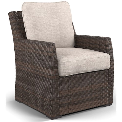 Signature Design by Ashley Salceda Outdoor Lounge Chair with Cushion