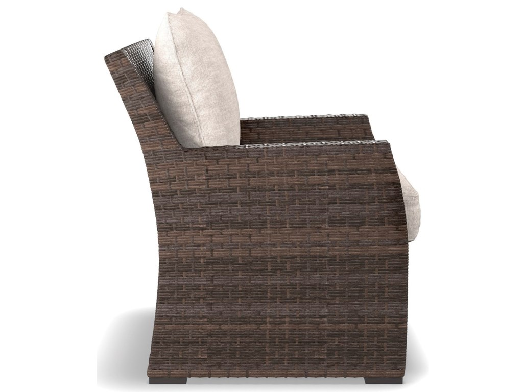 Signature Design by Ashley SalcedaOutdoor Lounge Chair with Cushion