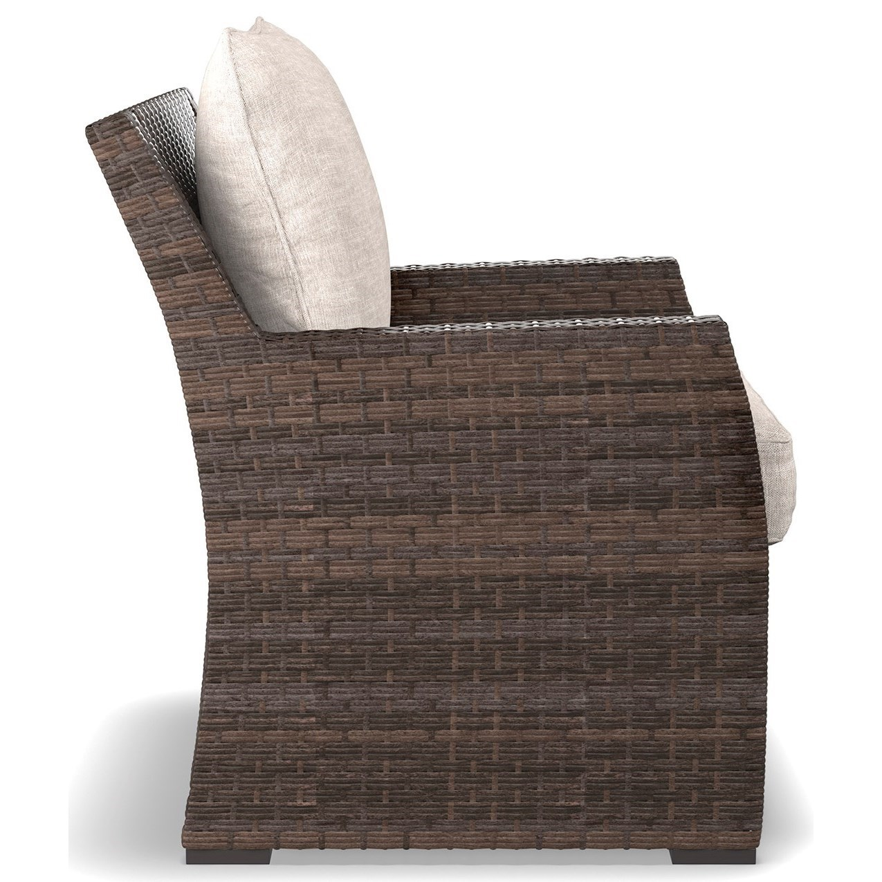 ... Ashley Signature Design SalcedaOutdoor Lounge Chair With Cushion ...