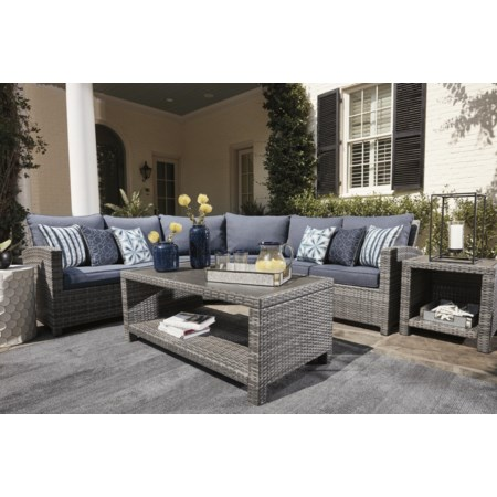 Outdoor 3 Piece Sectional Group