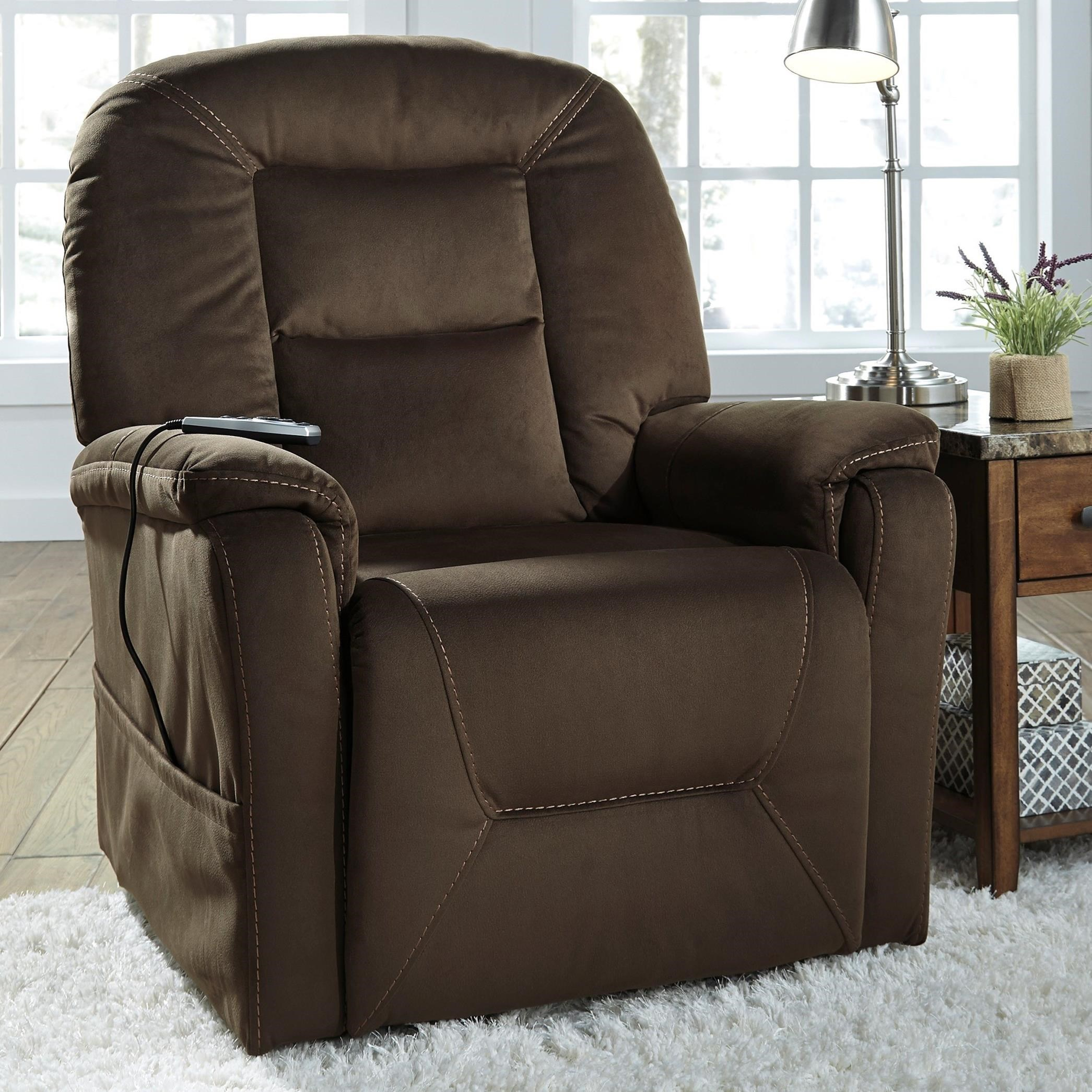Signature Design by Ashley Samir Power Lift Recliner with Massage and Heat & Signature Design by Ashley Samir Power Lift Recliner with Massage ...