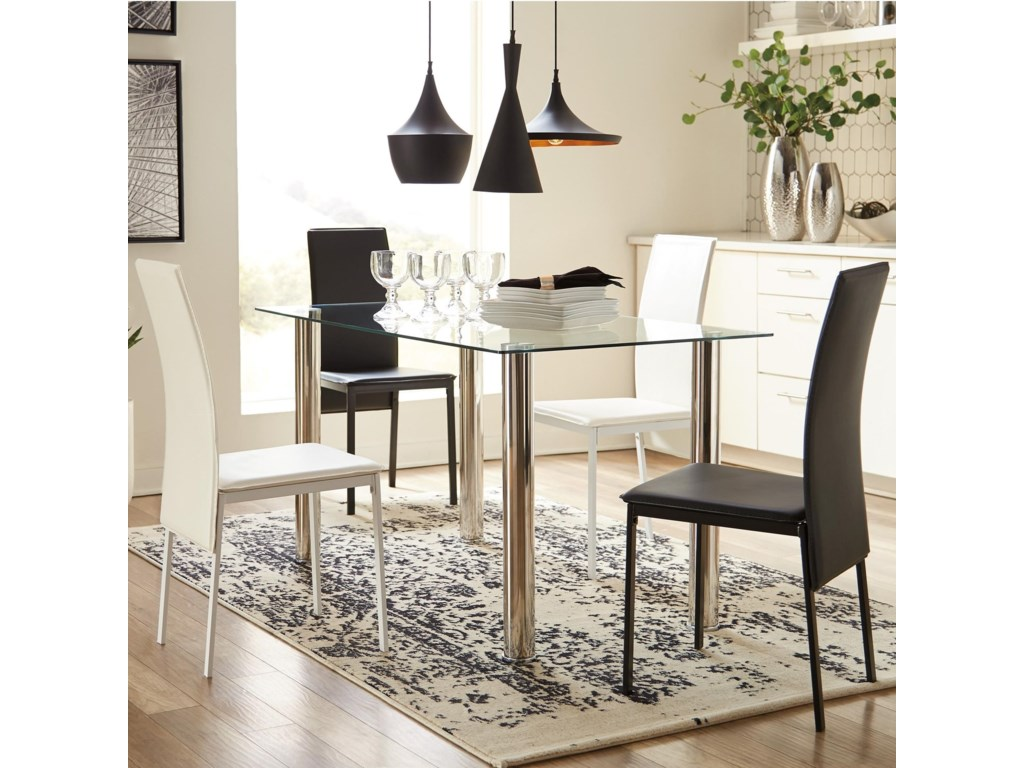Signature Design by Ashley SaridenFive Piece Chair & Table Set