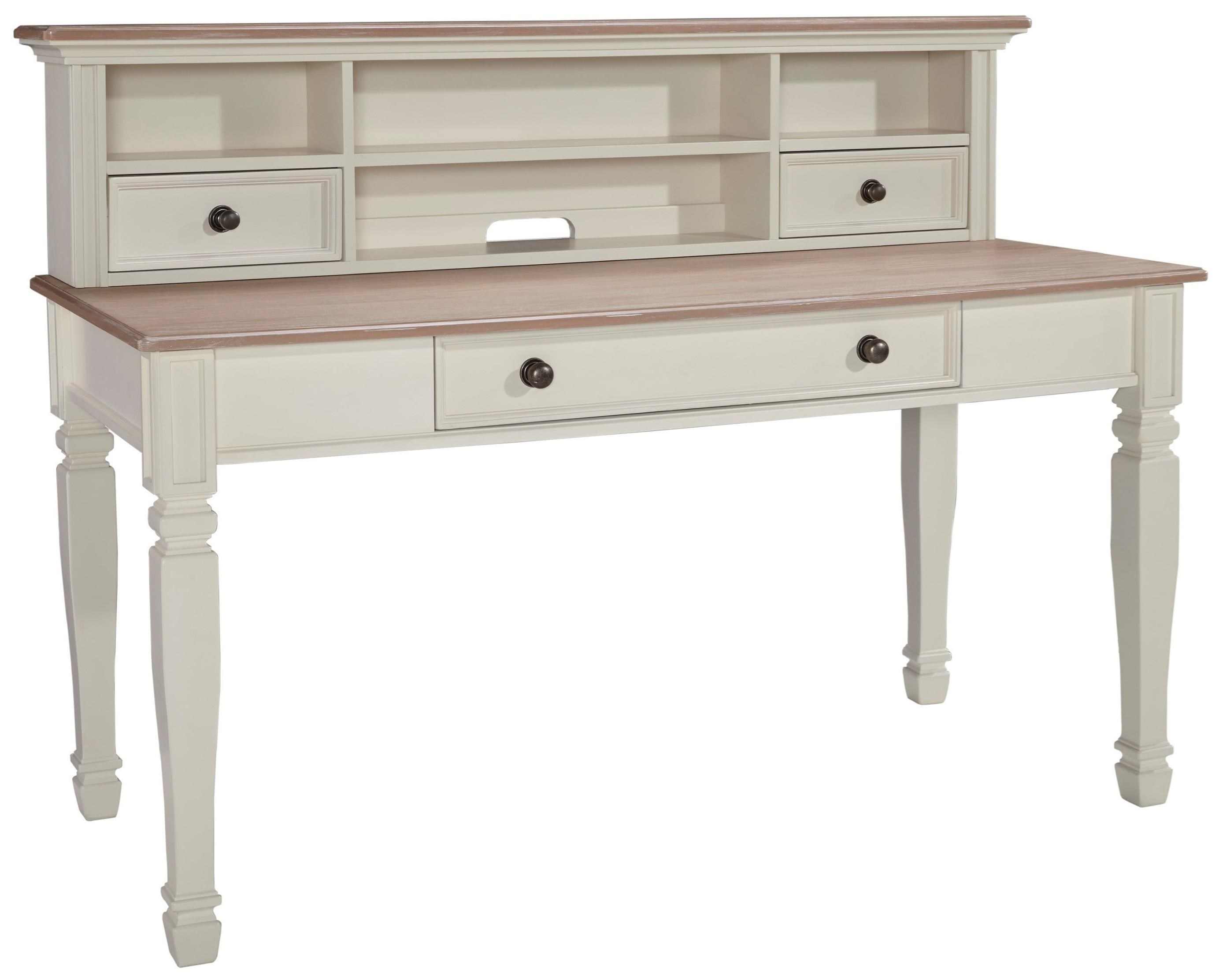 Signature Design by Ashley Sarvanny Home Office Large Leg ...