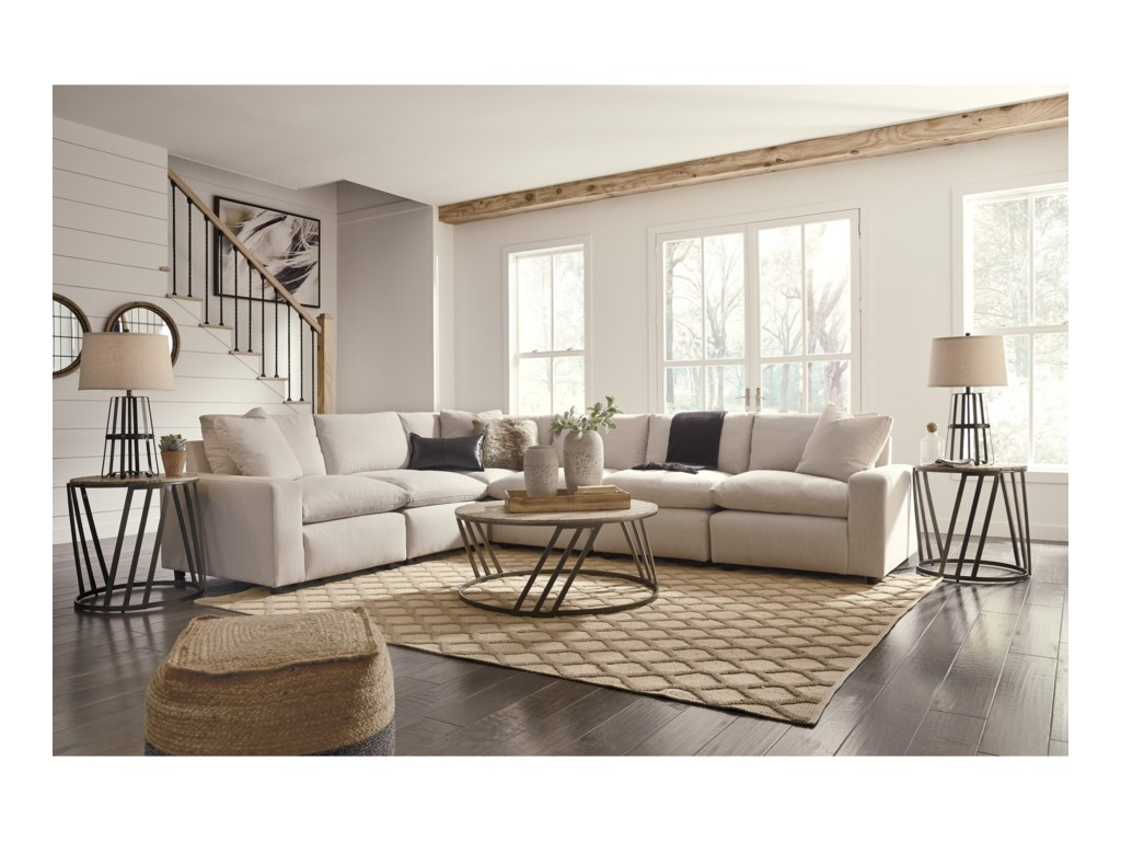 Signature Design By Ashley Savesto Casual Contemporary 6 Piece