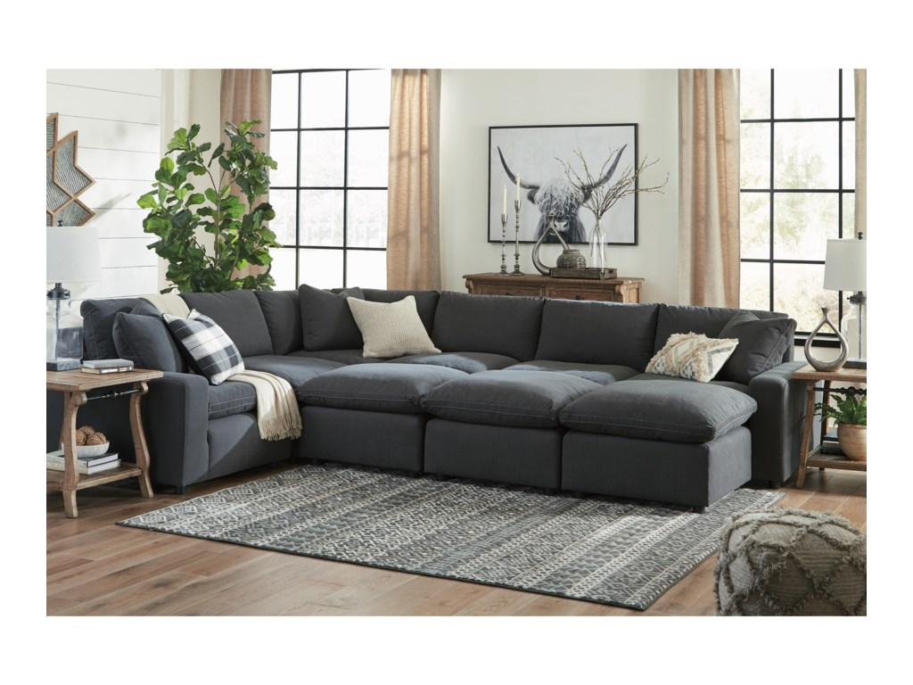 Signature Design by Ashley Savesto9-Piece Sectional Set