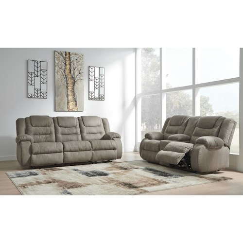 Signature Design by Ashley McCade Reclining Living Room Group