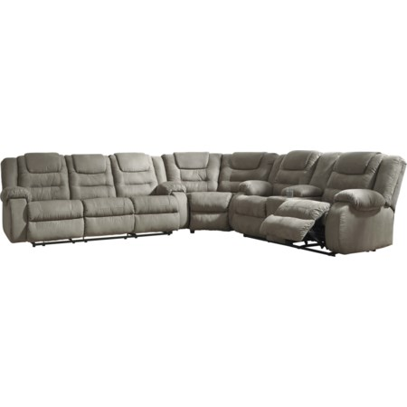3-Piece Reclining Sectional