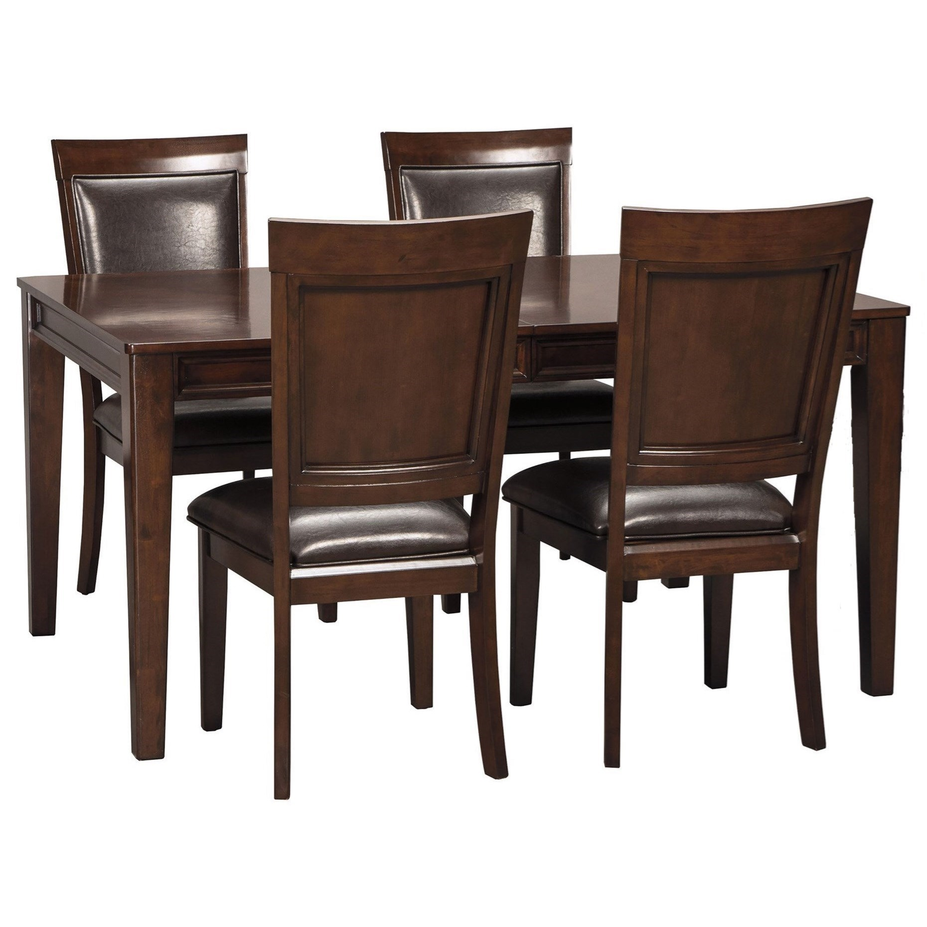 Signature Design By Ashley ShadynRectangular Dining Room Extension Table  Set ...
