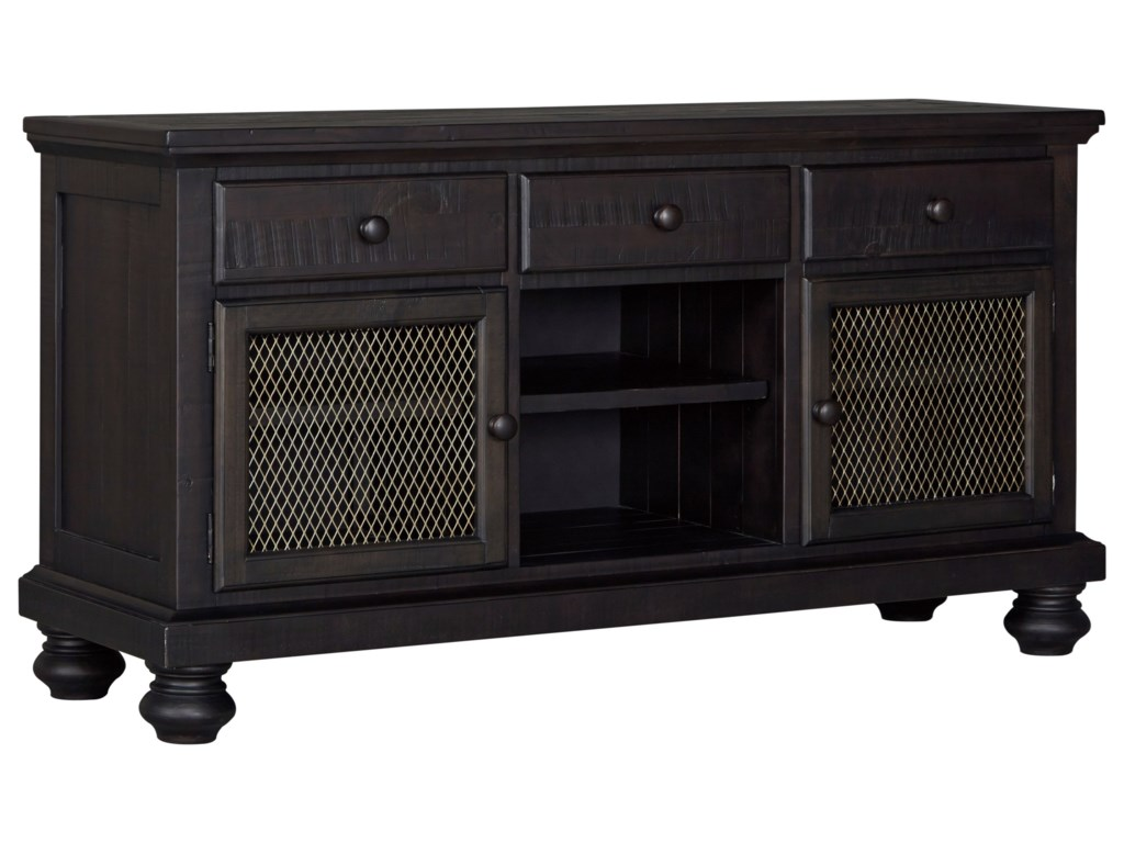 Signature Design By Ashley Sharlowe Solid Wood Dining Room Buffet