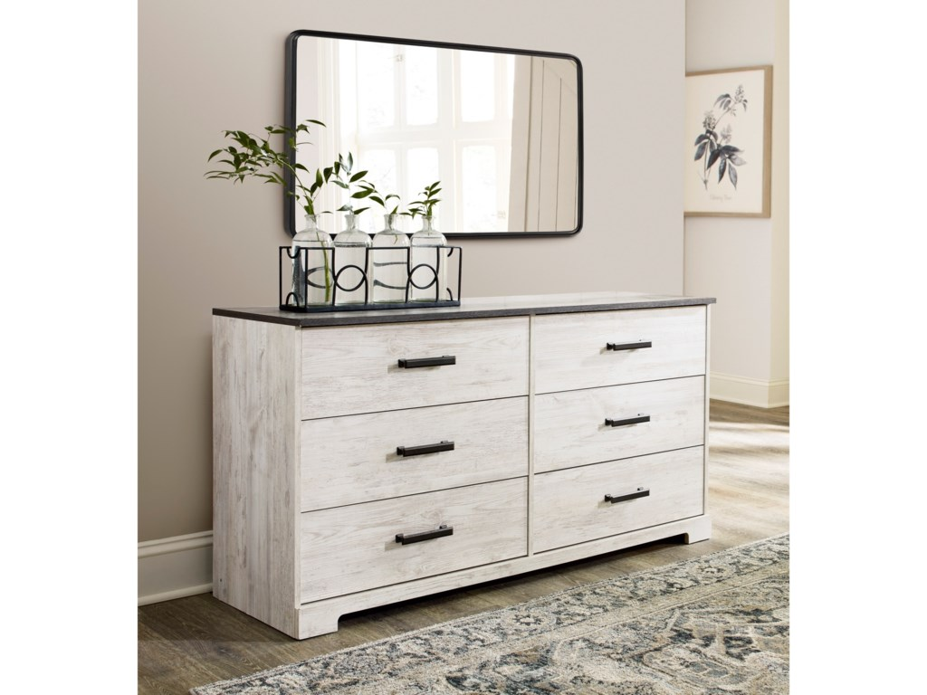 Signature Design by Ashley Shawburn6-Drawer Dresser