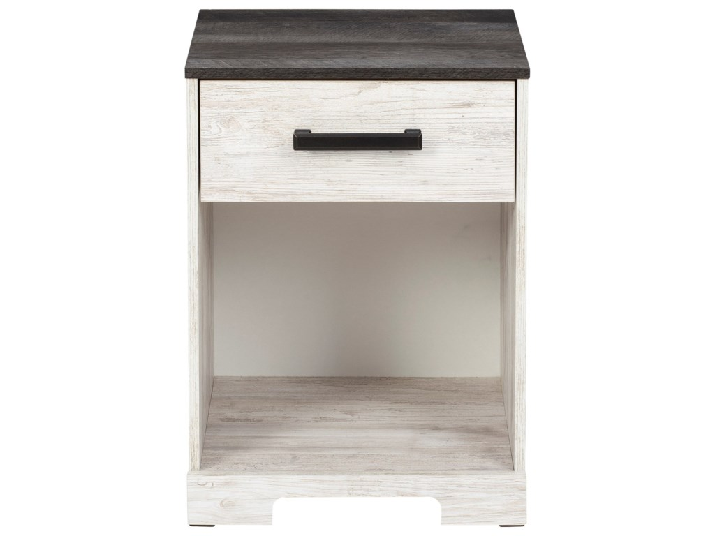 Signature Design by Ashley Shawburn1-Drawer Nightstand