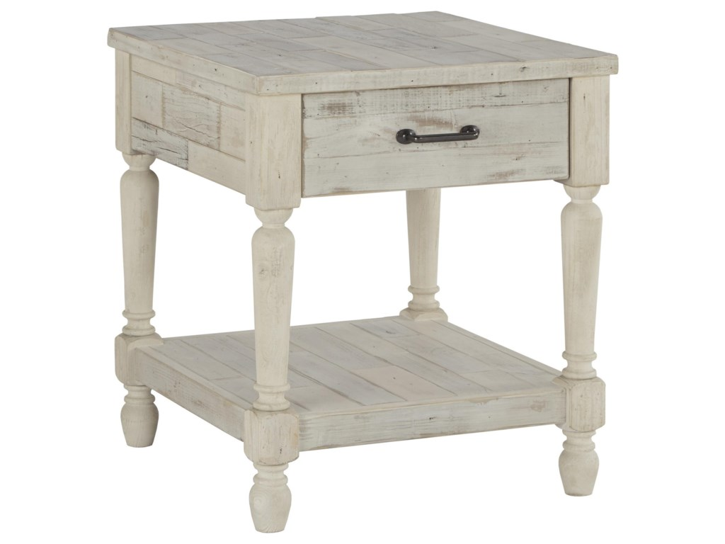 Signature Design by Ashley ShawnaloreCocktail Table and 2 End Tables Set