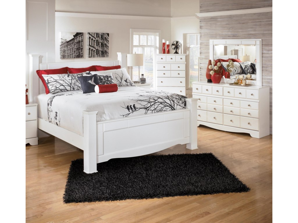 Nightstand and Chest Not Included