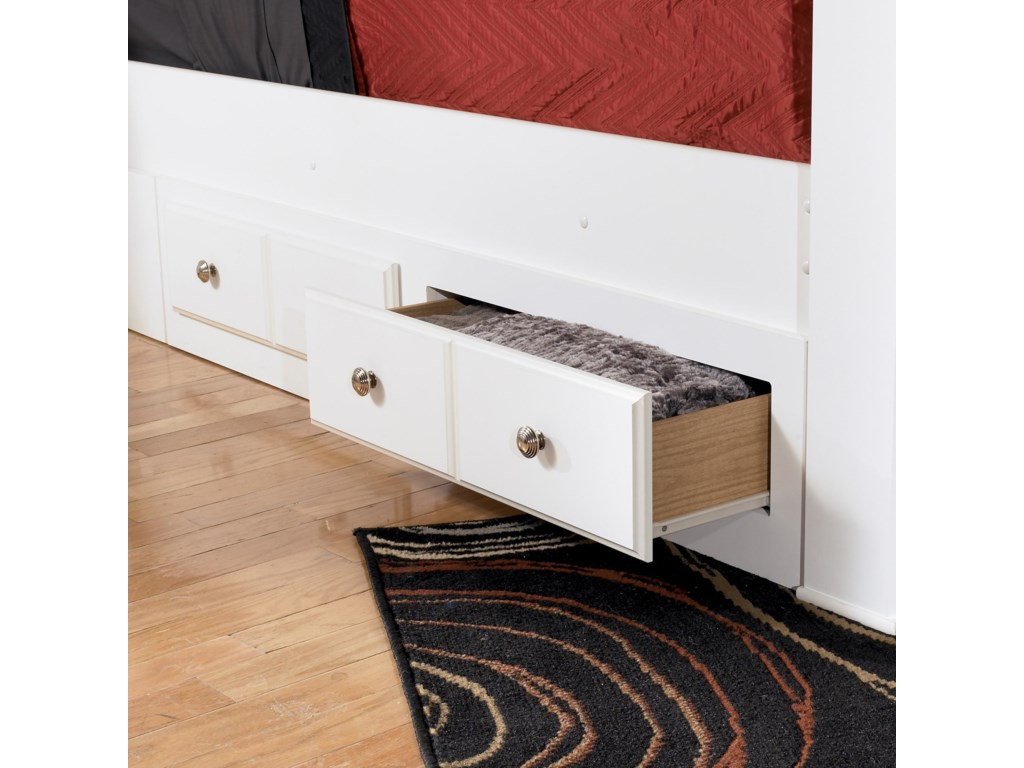 Signature Design by Ashley WeekiQueen/King Bed Storage