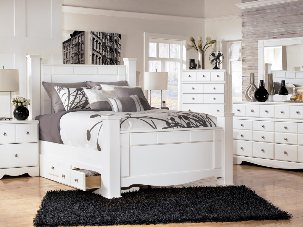 Shown with Queen Poster Bed