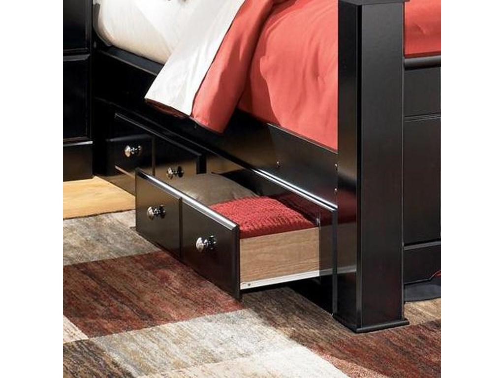 Signature Design by Ashley ShayQueen/King Bed Storage