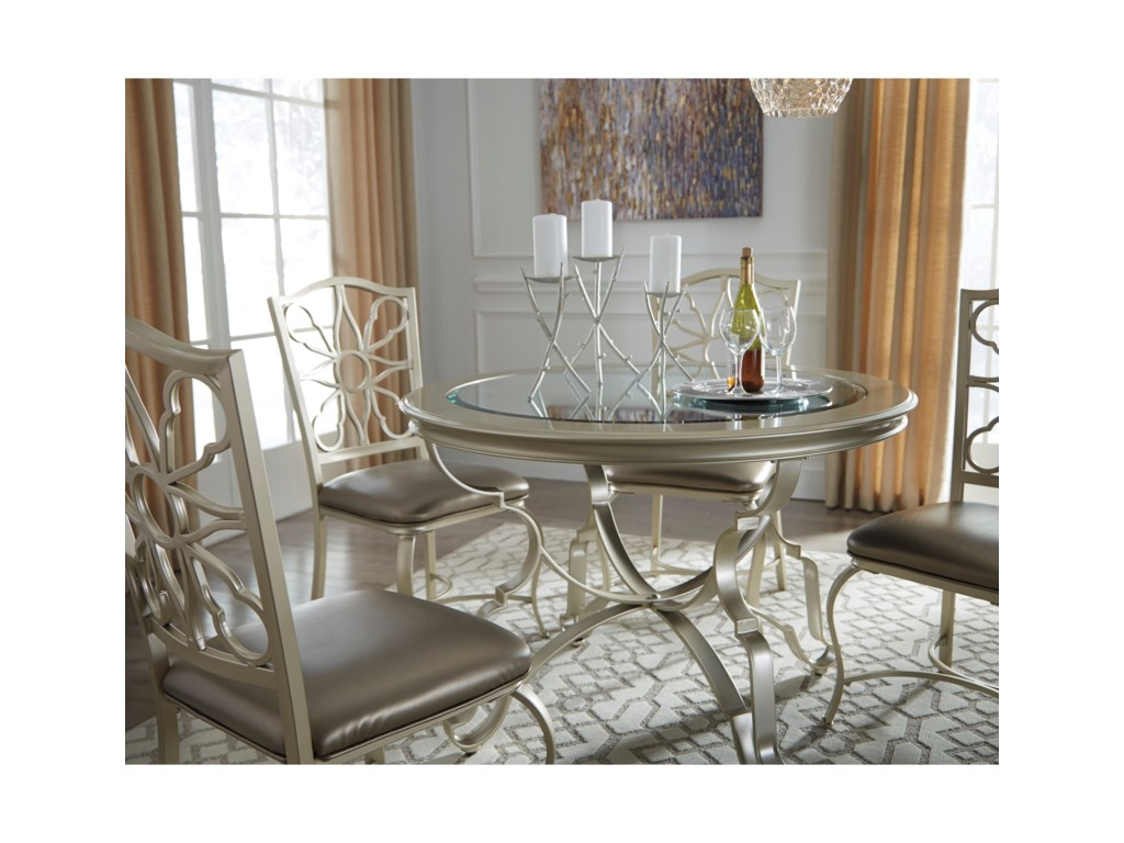 Ashley (Signature Design) ShollynDining Upholstered Side Chair