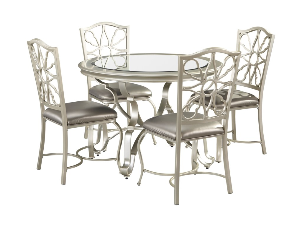 silver dining table and chairs. Signature Design by Ashley Shollyn5 Piece Dining Table Set  Shollyn 5 in