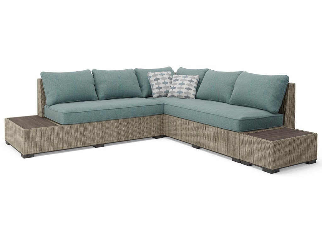 Signature Design by Ashley Silent BrookOutdoor Sectional Set