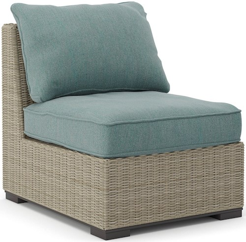 Signature Design by Ashley Silent Brook Armless Chair with Cushion