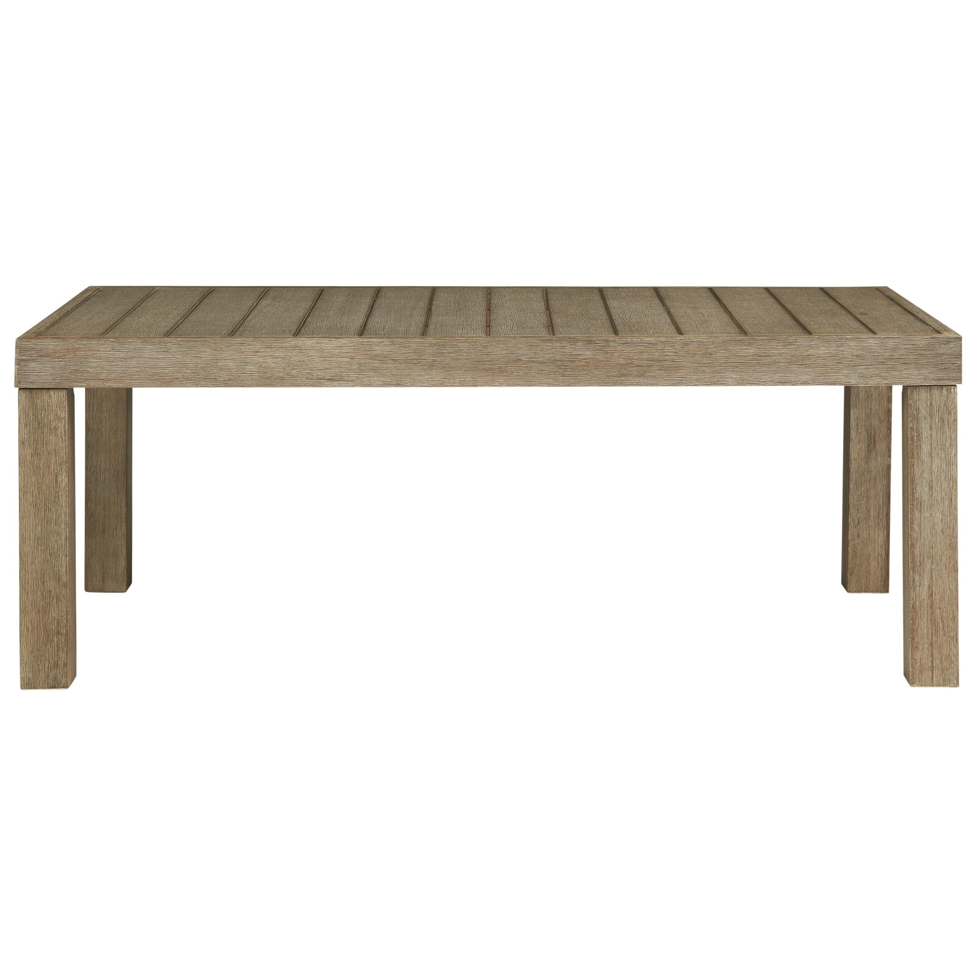 Eucalyptus Wood Rectangular Cocktail Table