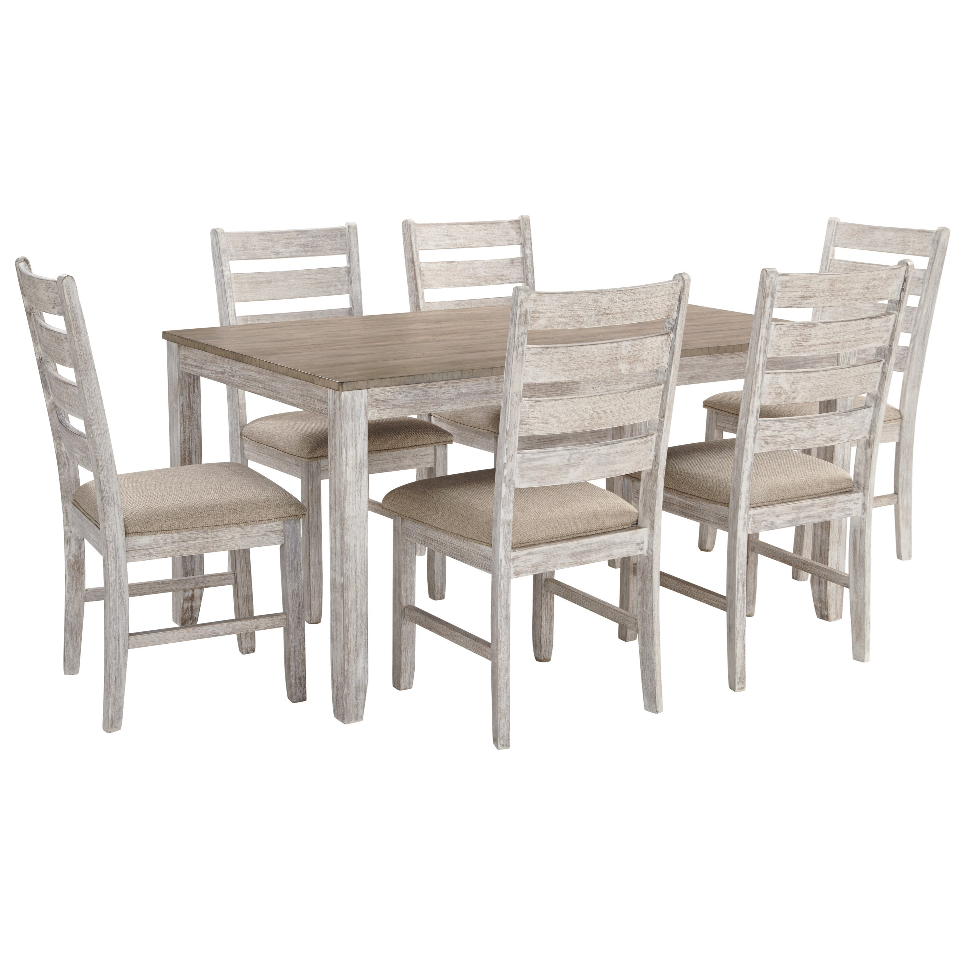 Ashley Signature Design SkemptonSeven Piece Dining Set ...
