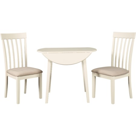 3-Piece Kitchen Table Set