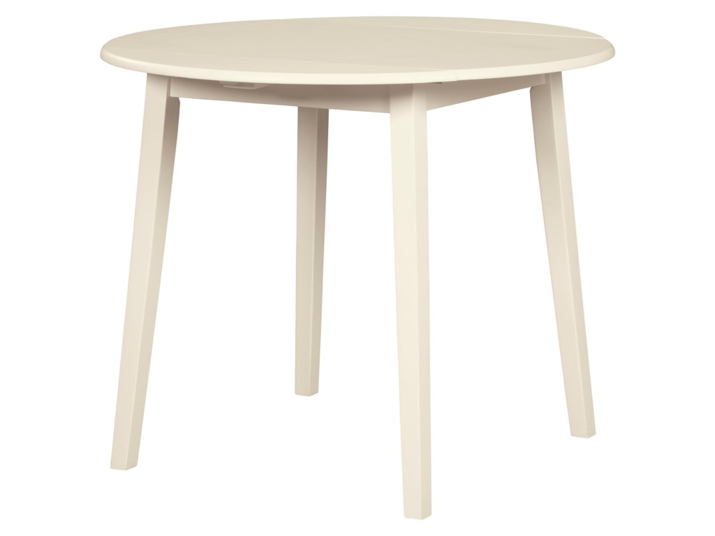 Slannery Casual Drop Leaf Kitchen Table by Signature Design by Ashley at  Household Furniture
