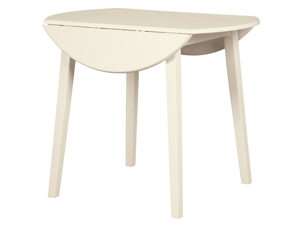 Signature Design SlanneryDrop Leaf Kitchen Table