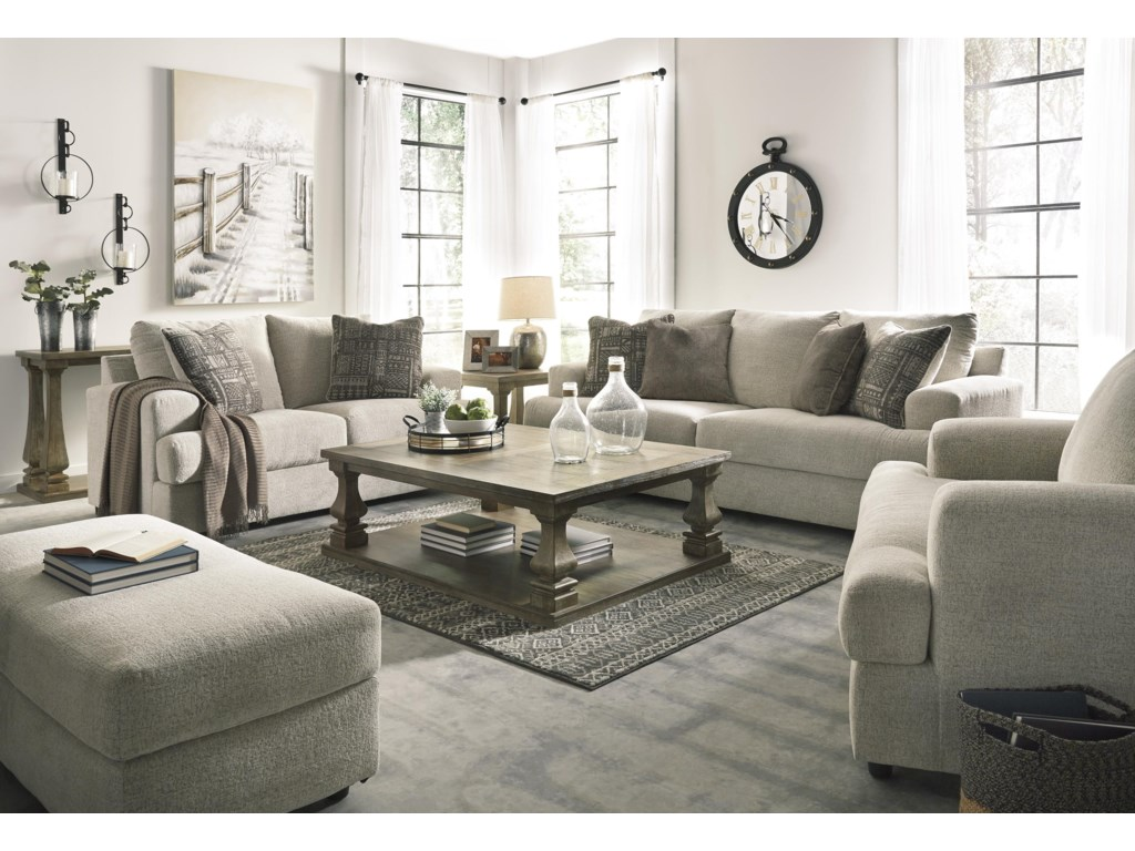 Signature Design by Ashley SoletrenSofa, Loveseat and Chair Set