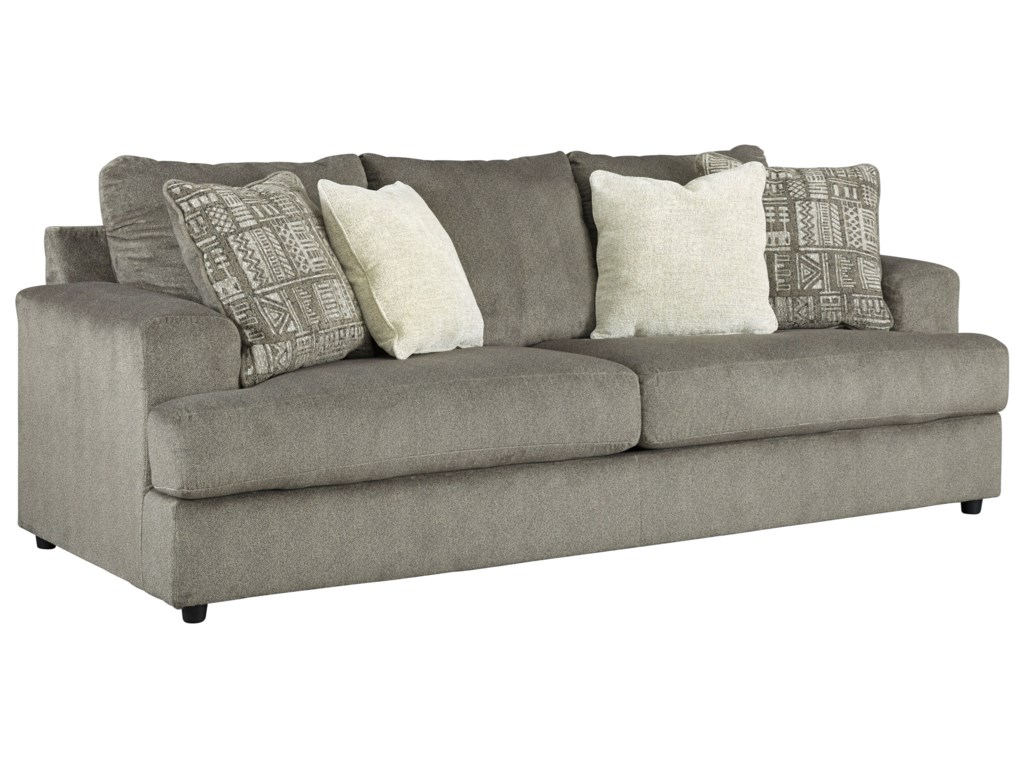 Sabrina Contemporary Sofa by Trendz at Ruby Gordon Home
