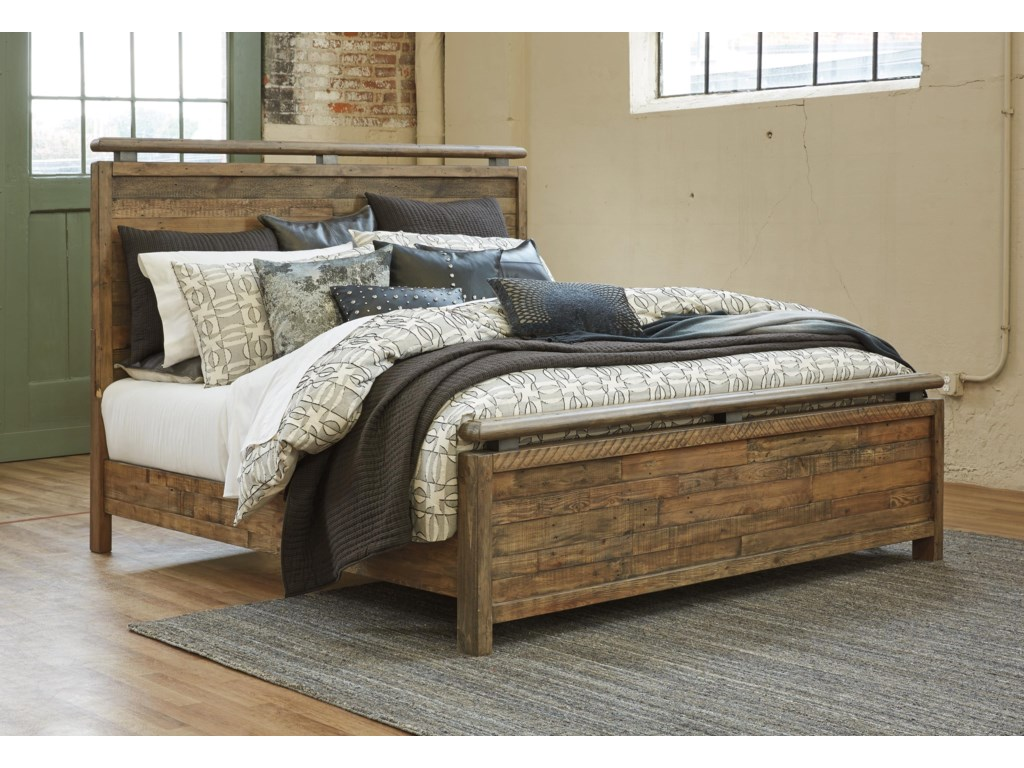 Signature Design by Ashley SommerfordKing Panel Bed Package