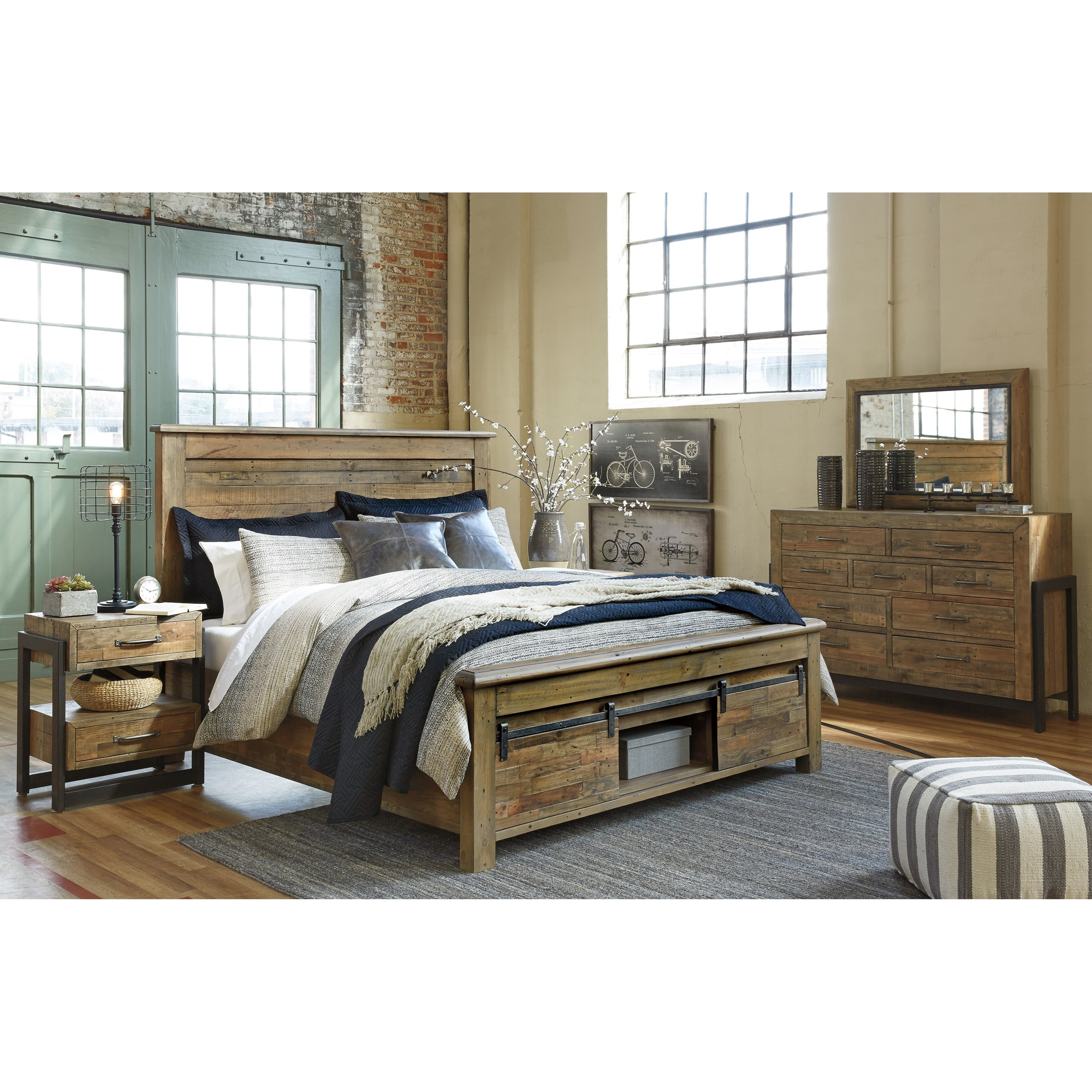 Bedroom Groups: Signature Design By Ashley Sommerford King Bedroom Group