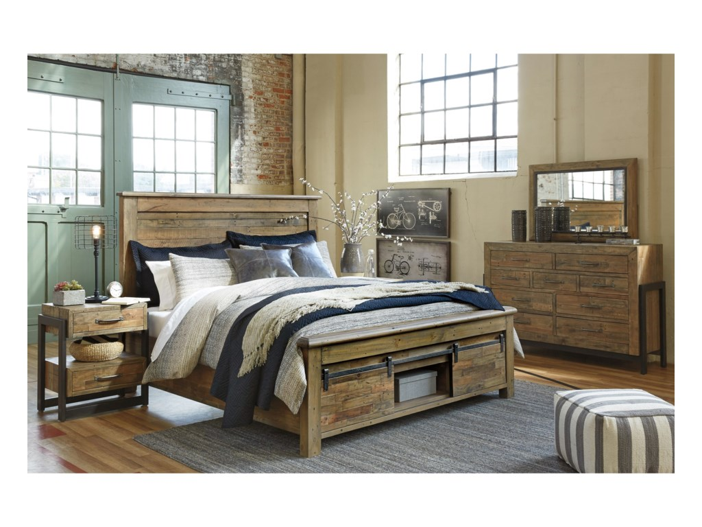 Ashley (Signature Design) SommerfordQueen Bedroom Group