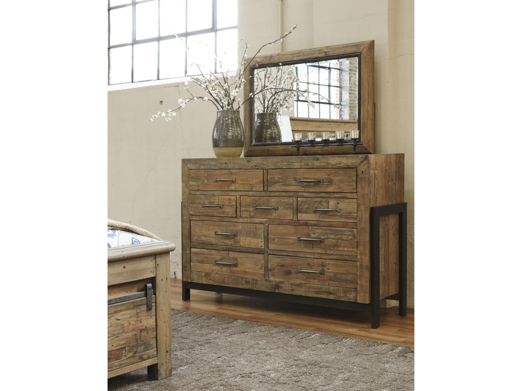 Signature Design by Ashley SommerfordDresser & Bedroom Mirror