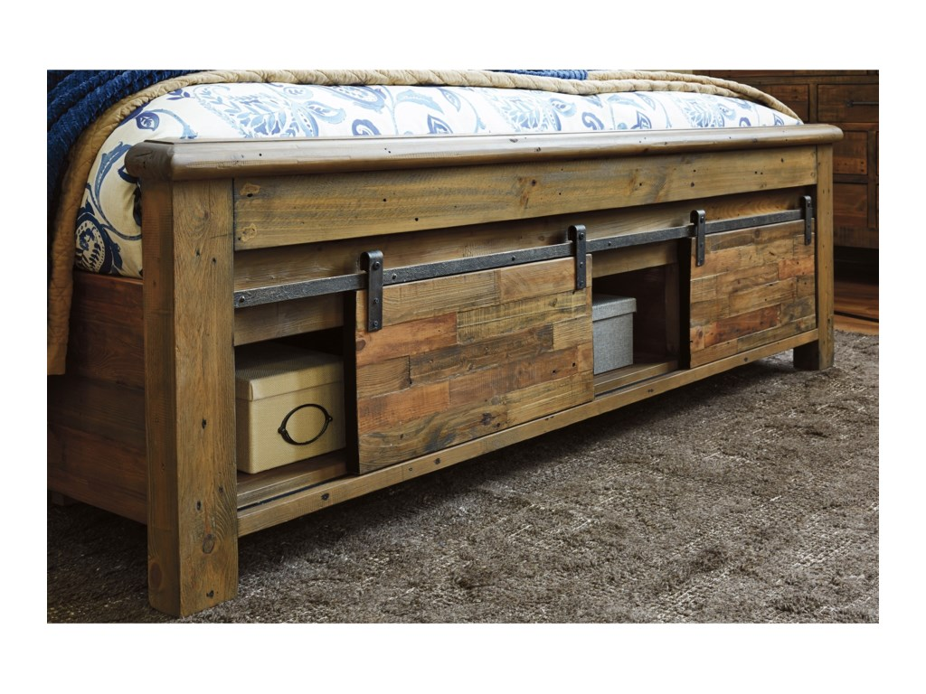 Signature Design by Ashley SommerfordKing Panel Storage Bed