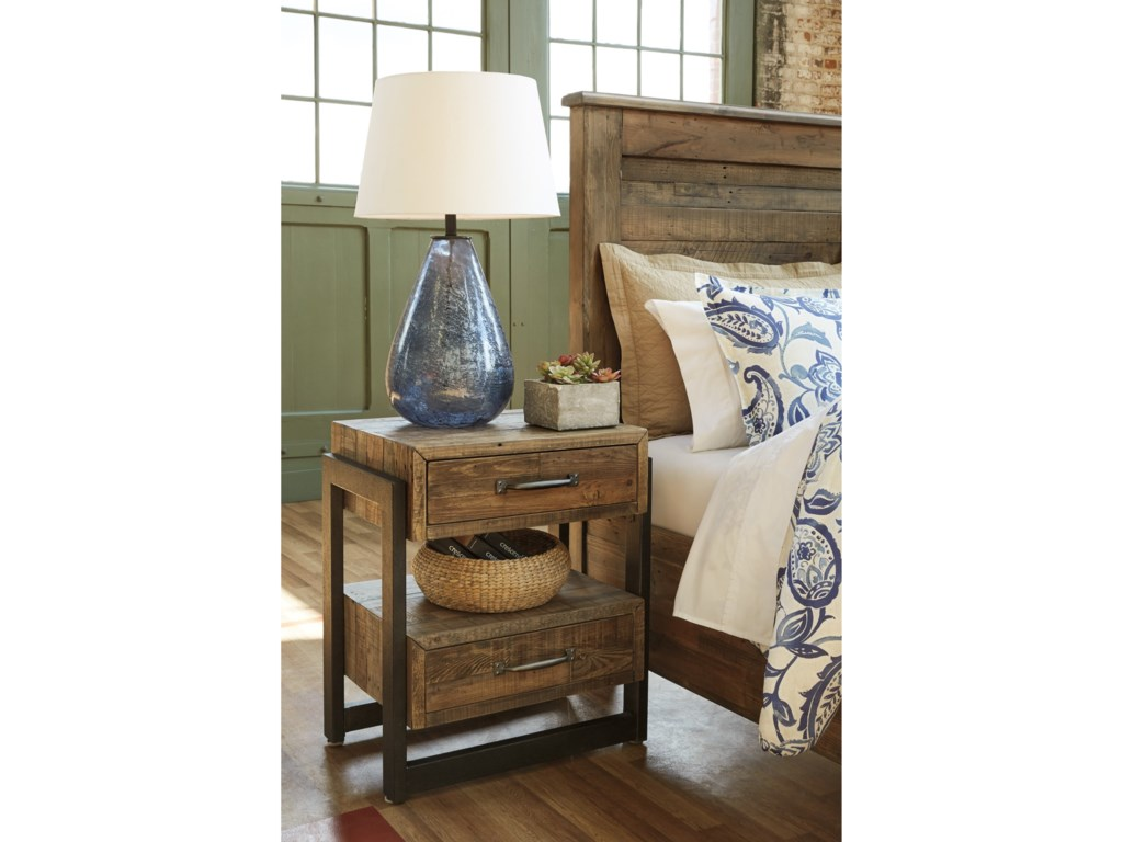 Signature Design by Ashley SommerfordTwo Drawer Night Stand