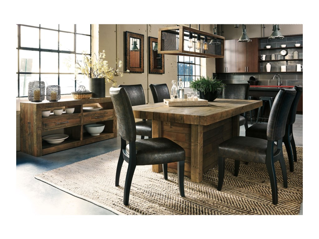 Signature Design by Ashley Sommerford Casual Dining Room Group ...