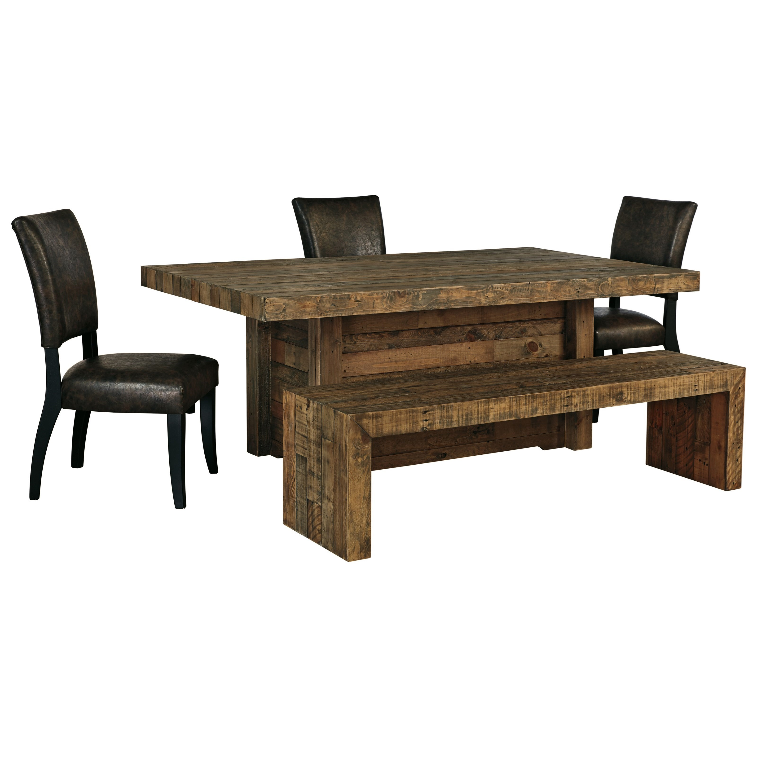 Signature Design By Ashley Sommerford 5 Piece Table Set