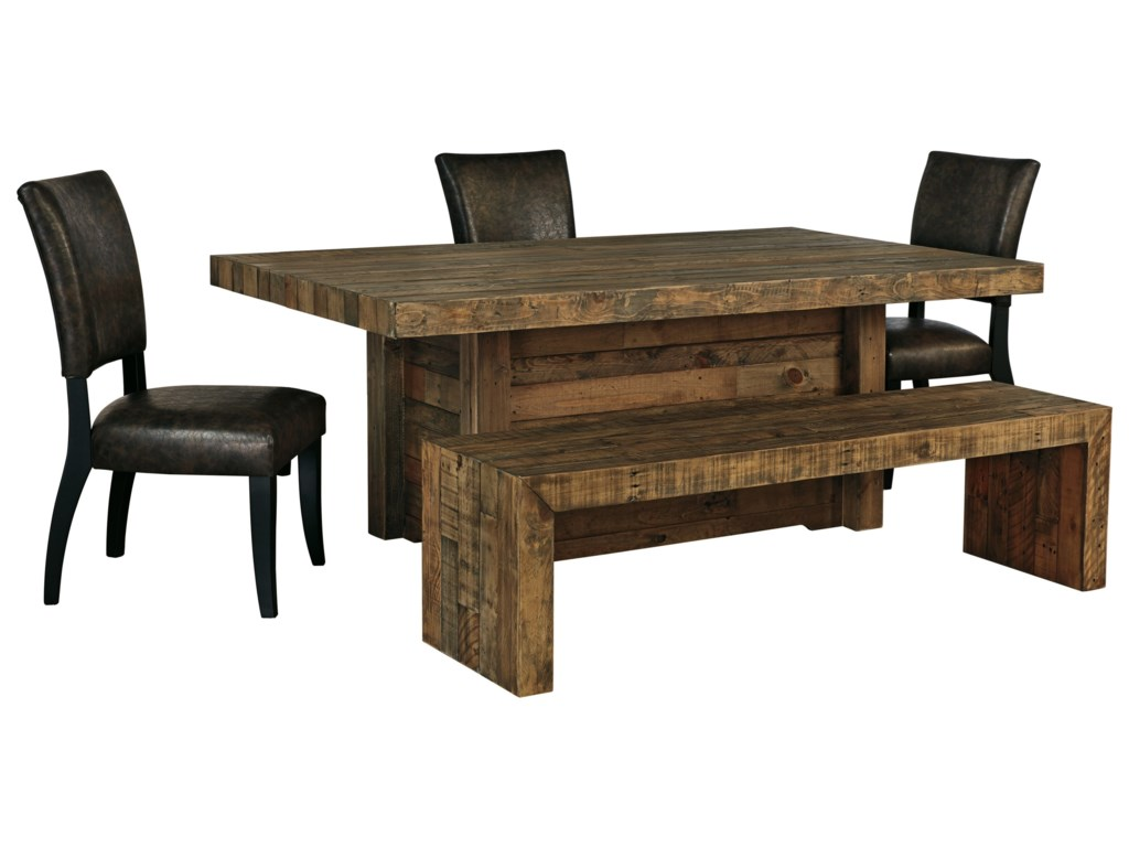 Signature Design by Ashley Sommerford5-Piece Table Set with Bench