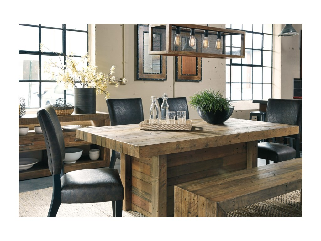 Signature Design by Ashley Sommerford6-Piece Table Set with Bench