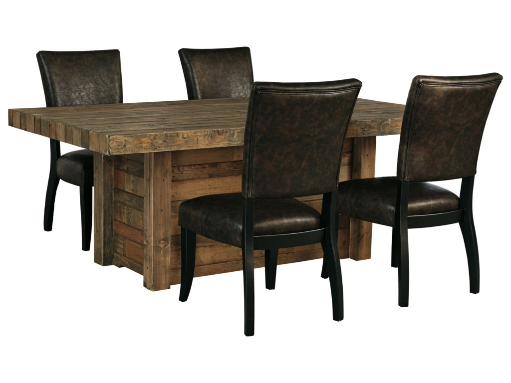 Signature Design by Ashley Sommerford5-Piece Rectangular Dining Room Table Set