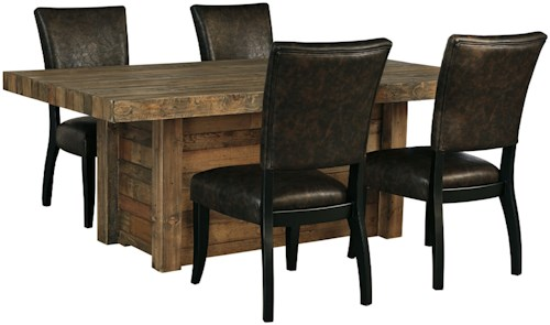 Wayside Dining Room Furniture: Signature Design By Ashley Sommerford 5-Piece Rectangular