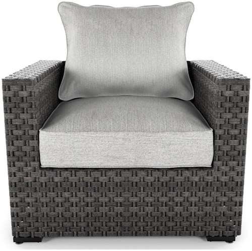 Signature Design by Ashley Spring Dew Resin Lounge Chair with Cushion