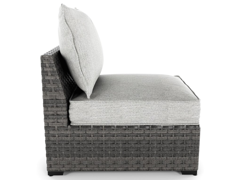 Signature Design by Ashley Spring DewArmless Chair with Cushion