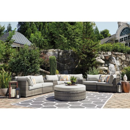 8-Piece Outdoor Sectional Group