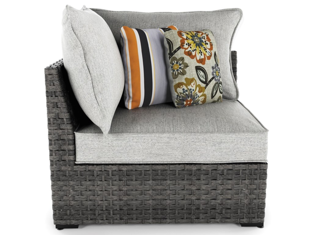 Signature Design by Ashley Spring DewCorner Chair with Cushion