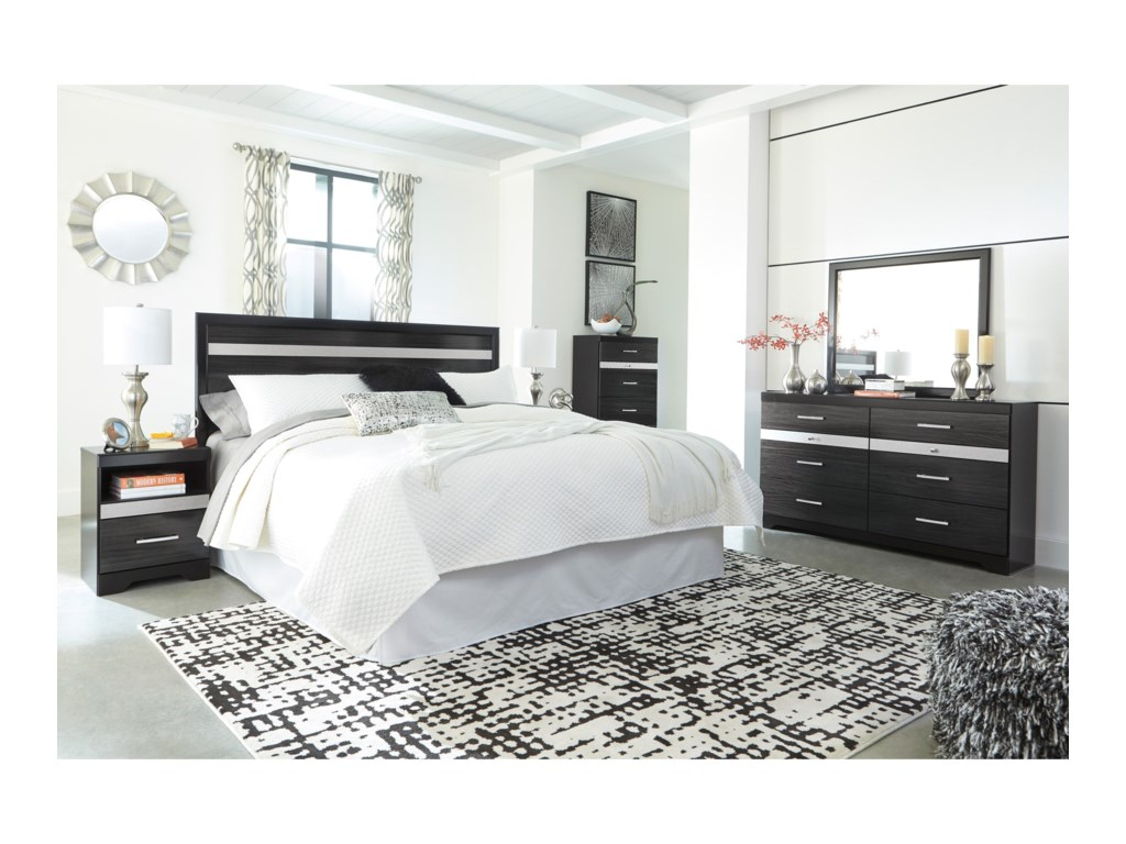 Signature Design by Ashley StarberryKing Bedroom Group