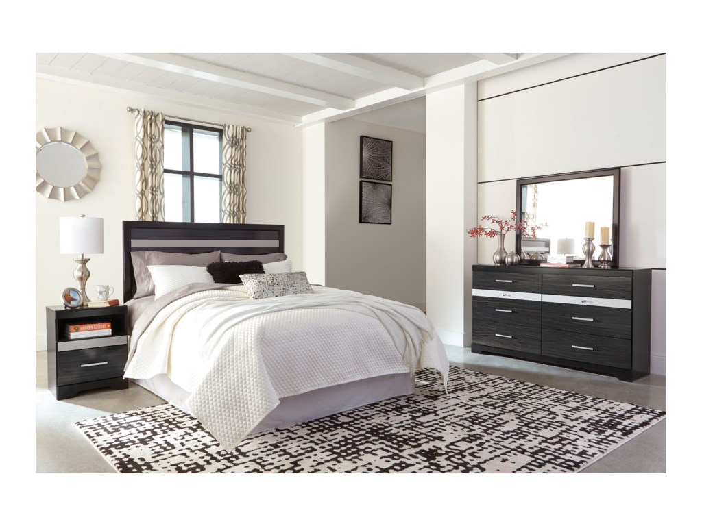 Signature Design by Ashley StarberryQueen/Full Bedroom Group