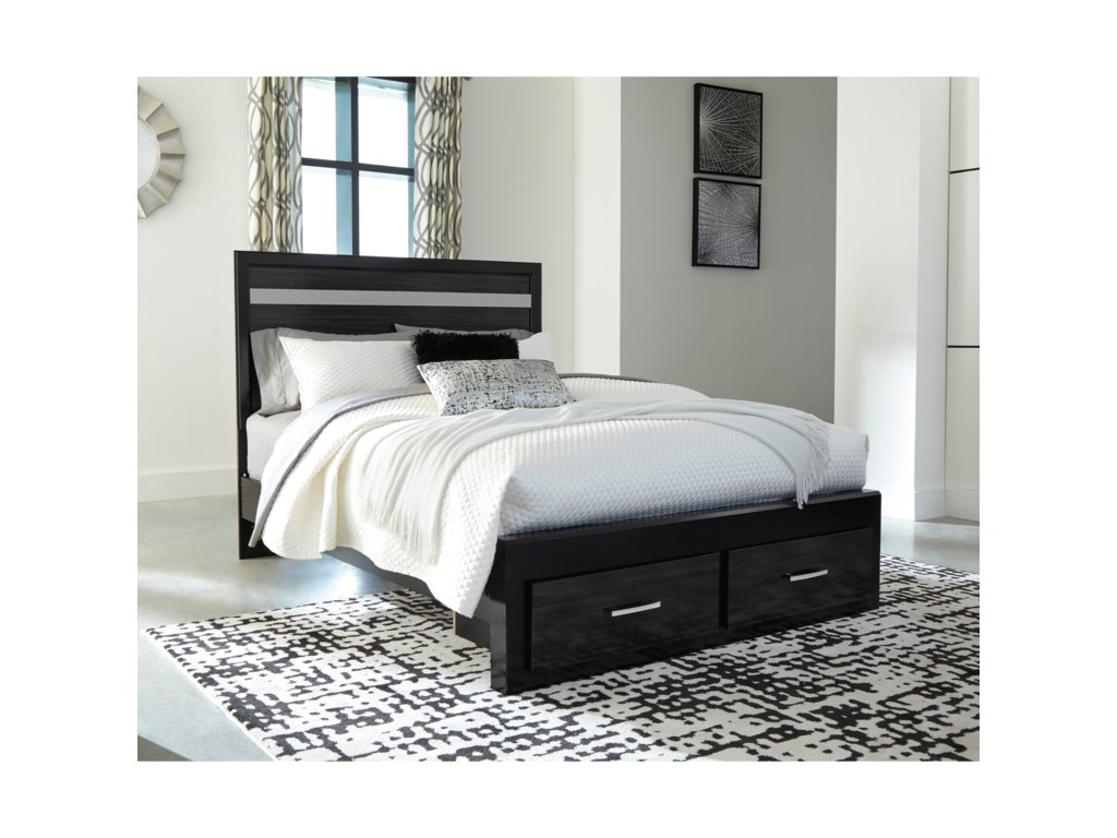 Signature Design by Ashley StarberryQueen Storage Bed
